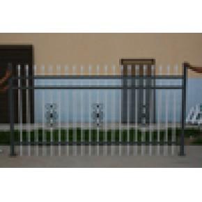 生产环保型围墙栅栏,非标栅栏,小区栅栏,简单美观