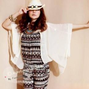Y3797透光雪纺垂坠短版衬衫 日韩女装上衣 网络批发