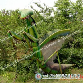 可多次充气使用仿真动物 充气螳螂