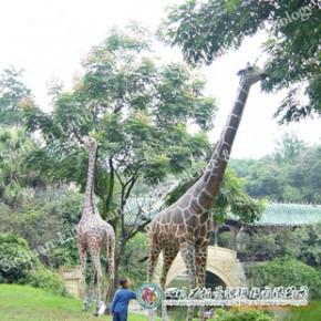 游乐场设施 各种充气动物模型 长颈鹿