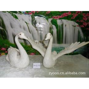 牙雕-天鹅 中艺雕刻 动物