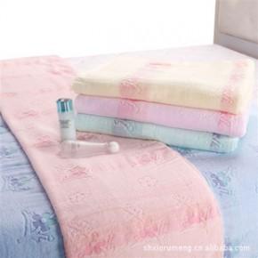 彗星家纺 纯棉毛巾被双人全棉单人毛巾毯空调毯空调被毛毯150*200
