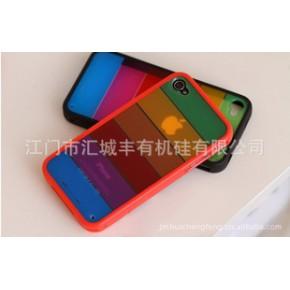 韩国 LIM'S iphone 4 彩虹 外壳 硅胶套
