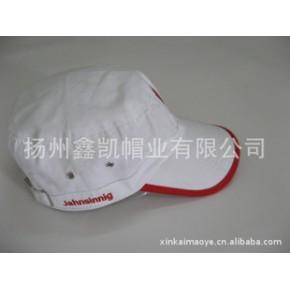 平顶帽,军帽,成人帽,供应全棉绣花纯白成人平顶军帽