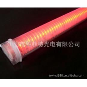 24V内控单红色LED护栏管、LED轮廓灯