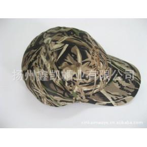 棒球帽,运动帽,军帽,供应全棉仿生丛林迷彩成人运动帽
