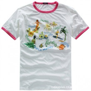 Set Ball 2011夏装新款 男装时尚圆领短袖T恤 3541