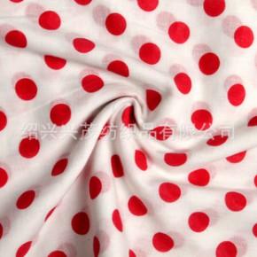 全棉系列圆点印花面料 100%棉