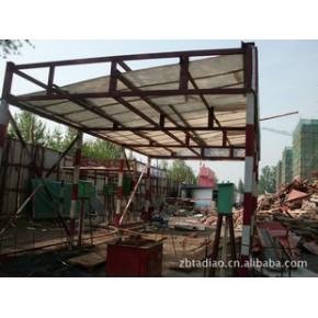 钢筋防护棚.木工防护棚,安全通道