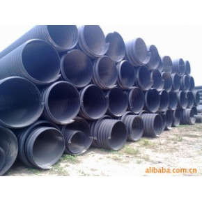 联塑钢带增强PE螺旋波纹管 天津联塑钢带增强PE波纹管