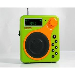 FM收音 TF卡扩音器_USB扩音机,多功能扩音器GD-318