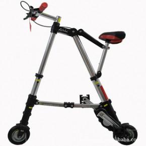 官方授权折悦A-BIKE smart 530i Silver 红 折叠自行车折叠车