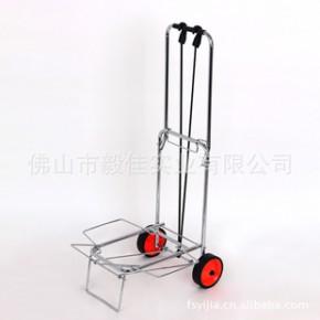 毅佳便携式可折叠式铁管喷涂电镀行李车