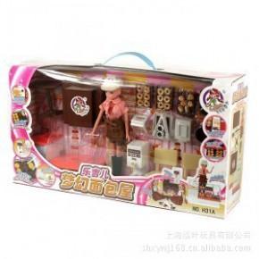 乐吉儿 娃娃梦幻面包房 H31A  女孩过家家玩具