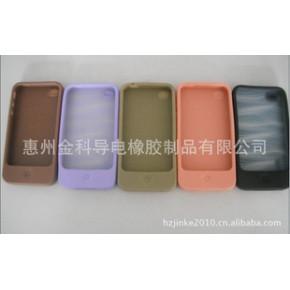 金科供应硅胶新iPhone 4G手机套--各色款式选择