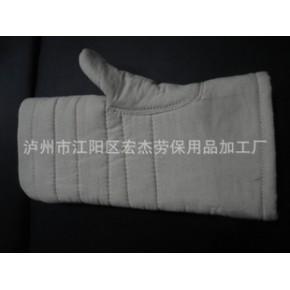 四层关刀手套/劳保手套/耐高温手套
