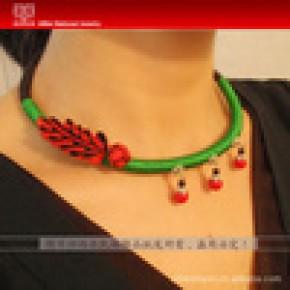 西北民族饰品 原创手工设计 民族风饰品 复古中国风项圈XQ-B010