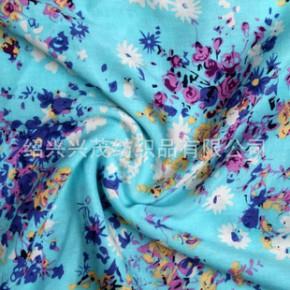 绍兴纺织服装面料32S人棉印花布