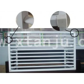 锌钢空调护栏 安居锌钢专业供应