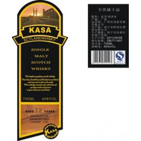 国内贴牌洋酒价格低10元每瓶威士忌味道好¥