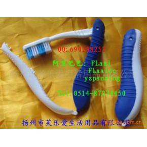折叠牙刷,旅行折叠牙刷,海马折叠牙刷梳子,成人折叠牙刷