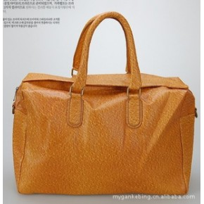 (暂无货)11年新款韩版时尚男士休闲PU皮 男包 手提包B2903