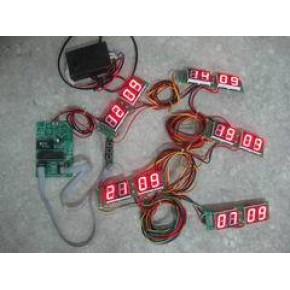 世界钟机芯套件 新星 LED数码管