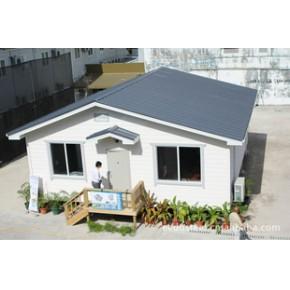 马尔代夫轻钢结构别墅样板房