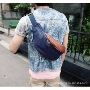 时尚男士斜挎包 小腰包 胸包 男包休闲包 潮品 免费加盟代销
