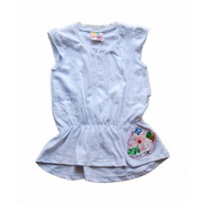 miss mango儿童T恤 儿童上衣 童背心  欧美品牌外贸 原单吊牌