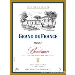 法国波尔多高迪世家AOC干红葡萄酒