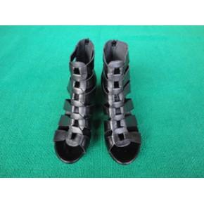 2011夏季新款5厘米矮跟女式罗马凉鞋/女式真皮凉鞋/货号8106