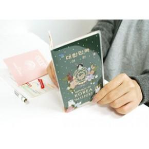 旅行出门必备用品批发礼品货源 日韩文具创意 超可爱猫护照28g