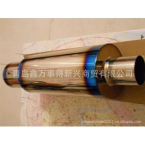 青岛不锈钢消音器 改装消声器 不锈钢排气管 尾喉 装饰罩