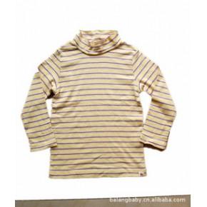 日韩童装儿童长袖T恤 童打底衫 原单combimini 外贸童上衣