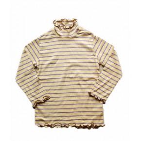 日韩外贸童装 儿童长袖T恤 童打底衫 高领 原单日单combimini