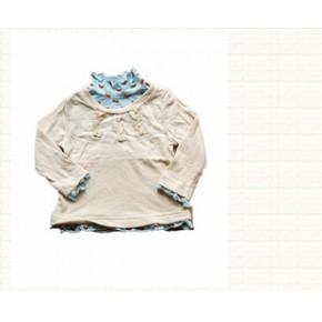 日韩童装 童打底衫日单品牌童长袖T恤 原单外贸童上衣 combimini