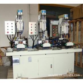 立式三工位启动自动进刀钻孔、铰孔专用机