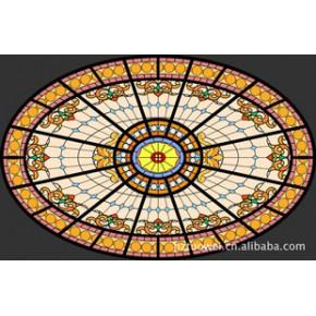 玻璃穹顶 钢化玻璃