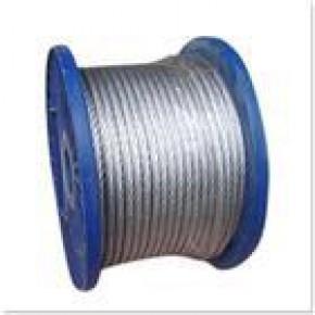 港口专用钢丝绳  热镀锌钢丝绳 电镀锌钢丝绳