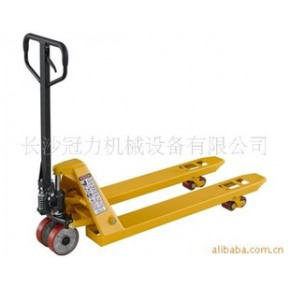 叉车|长沙叉车|手拖车|液压车|2.5吨手动液压托盘搬运叉车