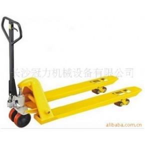 叉车|长沙叉车|手拖车|液压车|3吨手动液压托盘搬运叉车