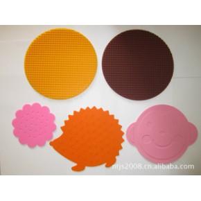 硅胶餐垫,杯垫,防烫伤垫,锅垫