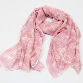 外贸印花100%纯羊毛围巾 2011新款式 H-095