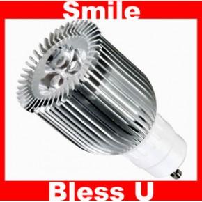 节能环保GU10 6W 大功率高显色 冷白暖白SMD LED 射灯