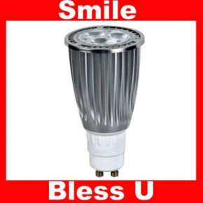 厂价 CE ROHS 便宜6W 大功率高显色 暖白冷白 LED GU10 射灯