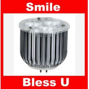 高效节能 热卖 3W 大功率 暖白 GU5.3  室内照明  LED MR16 射灯