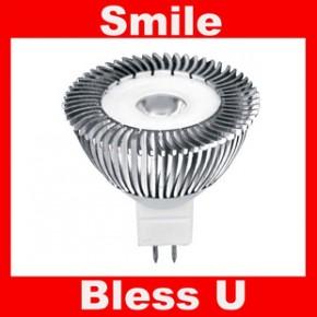 高效节能 GU5.3  4W 大功率高显色 室内照明 MR16 LED灯杯 杯灯