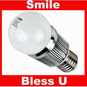 大功率高显色 3W 奶白色 E27 E26 嵌入式暗装 LED球泡灯