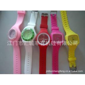 批发供应时尚手表 色彩糖果表 多彩果冻手表硅胶运动手表